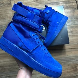 Nike Air Force 1 Special Field Royal Blue Boots